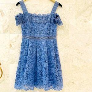 FRANCESCA'S {M} Lace Mini Dress